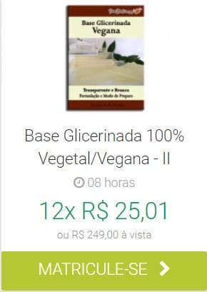 Base Glicerinada Vegetal/Vegana II