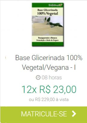 Base Glicerinada Vegetal/Vegana I