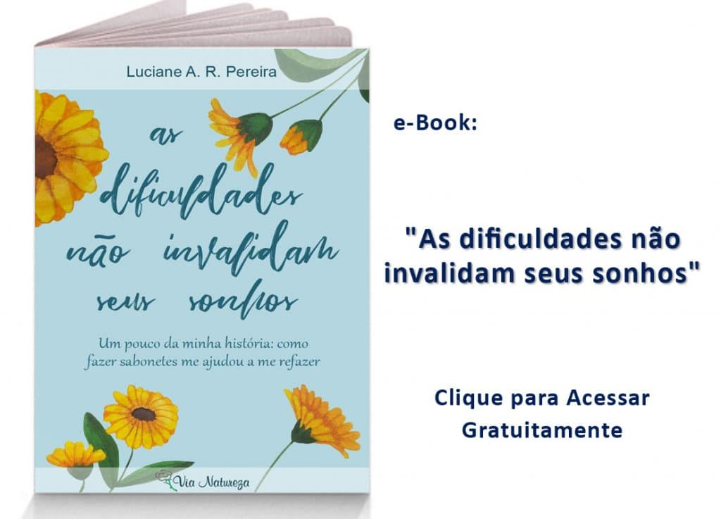 Capa e-book Flores Amarelas e Fundo Azul