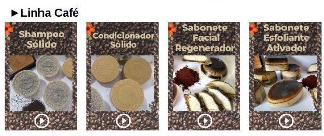 Sabonetes de Café